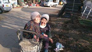水口農場のおばあちゃん