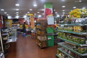 インドのスーパーマーケット