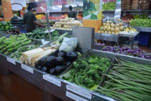 インドの野菜コーナー