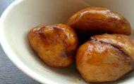 クリの醤油炒り煮